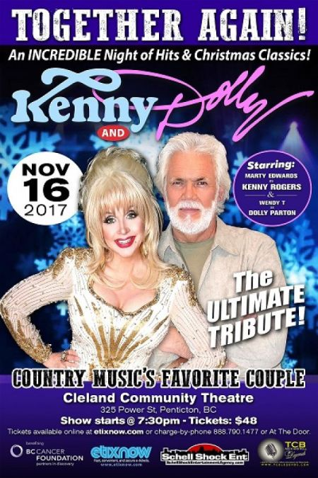 TOGETHER AGAIN!: TOGETHER AGAIN!: DOLLY AND KENNY at Cleland Community Theatre Thu Nov 16 2017 at 7:30 pm