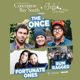 THE ONCE AT CONCEPTION BAY SOUTH ARENA - SAT SEP 28 2019