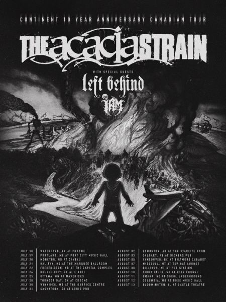 Morbid Entertainment & Red Tentacle Present: THE ACACIA STRAIN STRAIN at The Marquee Ballroom Sat Jul 21 2018 at 9:00 pm