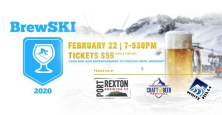 BrewSKI 2020 at White Hills Resort Sat Feb 22 2020 at 7:00 pm