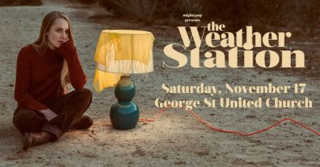 THE WEATHER STATION at George Street United Church Sat Nov 17 2018 at 8:00 pm