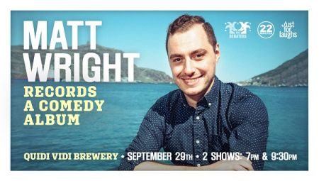MATT WRIGHT at Quidi Vidi Tap Room Sat Sep 29 2018 at 9:30 pm