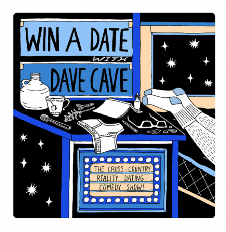 Win a Date with Dave Cave! at Charlotte Street Arts Centre Thu Aug 2 2018 at 8:00 pm