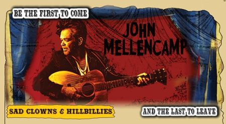 evenko present An evening with : JOHN MELLENCAMP at Halifax Forum Sun Sep 30 2018 at 7:30 pm