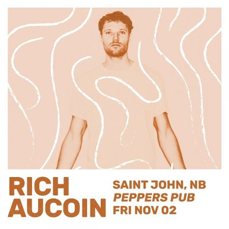 RICH AUCOIN at Peppers Pub Fri Nov 2 2018 at 10:00 pm