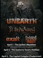 Unearth with Special Guests 2017 from Sat Apr 1 to Mon Apr 3, 2017