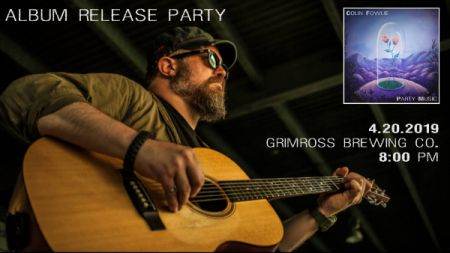 Presented by Roots & Soul Music: COLIN FOWLIE at Grimross Brewing Co. Sat Apr 20 2019 at 8:00 pm