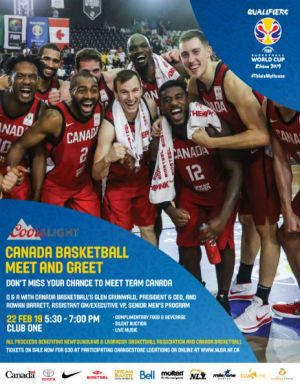 Meet and Greet with Canada Basketball National Men�s Team