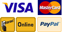 Pay securely with PayPal, Visa, MasterCard, or INTERAC Online.
